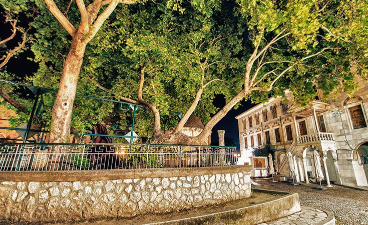 Hippocrates' plane tree in Kos