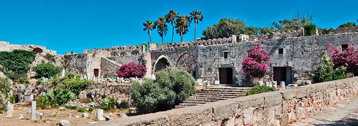 Zamak u gradu Kos