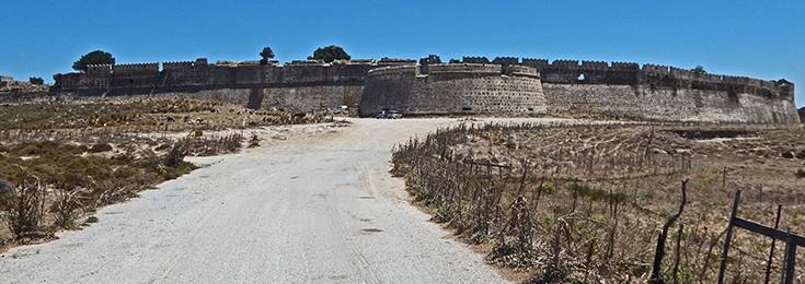 The castle of Antimachia