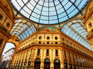 Gallery of Vittorio Emanuele in Milan