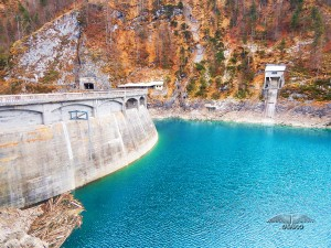Sauris jezero u severnoj Italiji