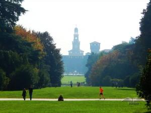 Sempione park u Milanu
