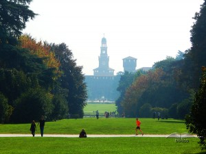 Sempione Park in Milan