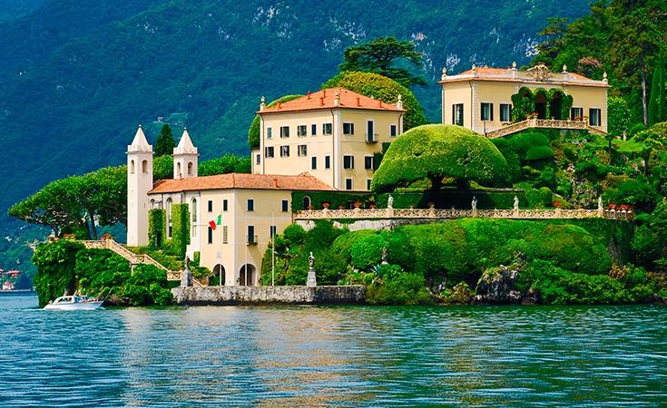 Villa Balbianello in Lenno