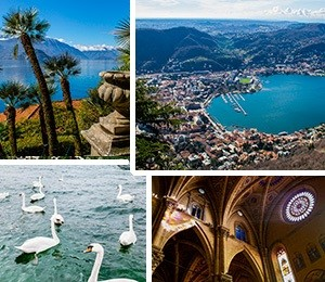 Attractions in Lake Como