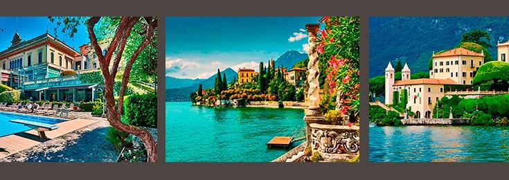 The most beautiful villas at Lake Como