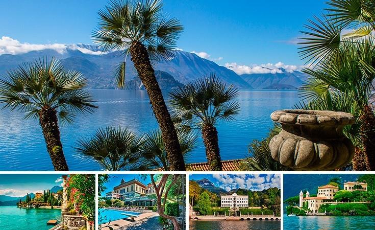Najlepše vile na jezeru Komo