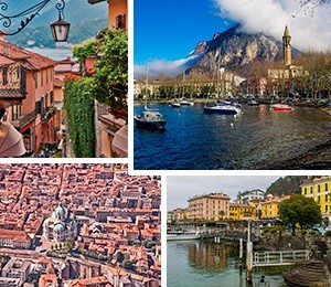 Towns in Lake Como