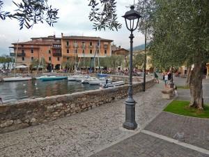 Tori del Benako mesto na jezeru Garda