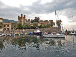 Torri del Benaco Castle on Lake Garda
