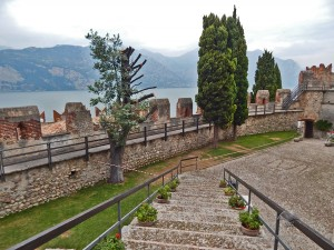 Malcesine Castle on Lake Garda