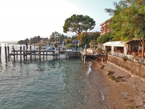 Sirmione town on Lake Garda