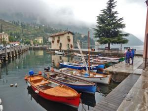 Torbole town on Lake Garda