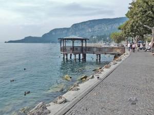 Mesto Garda na jezeru Garda