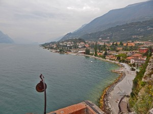 Incredible view from the Malcesine Castle