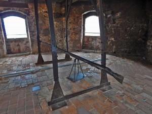 Tower of the Malcesine Castle on Lake Garda