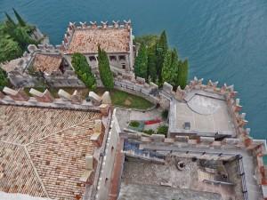 Scaligero Castle in Malcesine town on Lake Garda