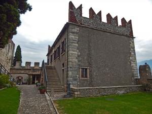 Malcesine Castle on Lake Garda