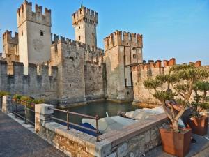 Zamak Skaliđero u mestu Sirmione