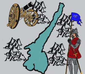 Mapa Jezera Garda