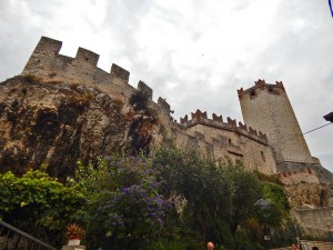 Scaligero Castle in Malcesine town