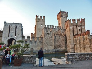 Scaligero Castle in the town Sirmione