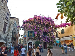 Town Sirmione on the Lake Garda in Italy