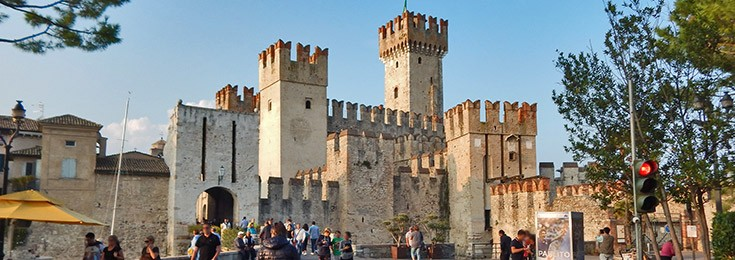 Sirmione on the Lake Garda