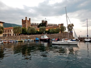 Scaligero Castle in the town Torri del Benaco