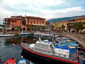 Torri del Benaco town on Lake Garda