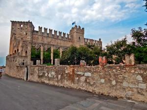 Scaligero Castle in the town Torri del Benaco