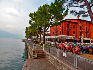 Torri del Benaco town on Lake Garda