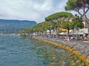 Town Garda on Lake Garda