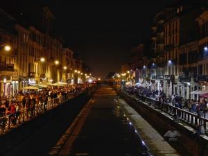 Navigli city zone in Milan