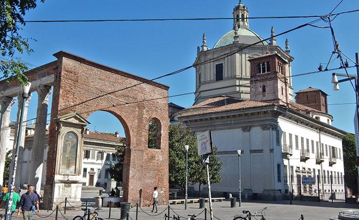Bazilika San Lorenco i stubovi San Lorenco