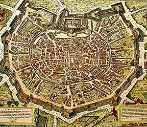Mapa Milana