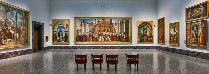 Brera Art Gallery in Milan
