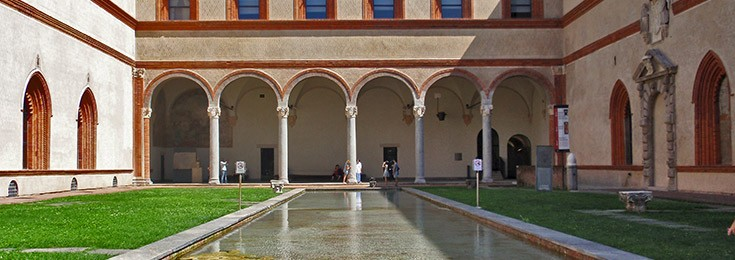 Museums of the Sforza Castel