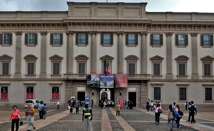 Royal Palace in Milan