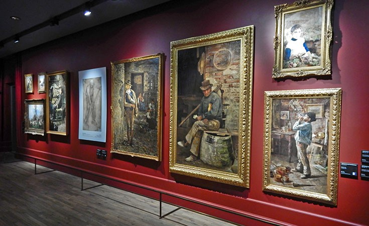 italy art galleries