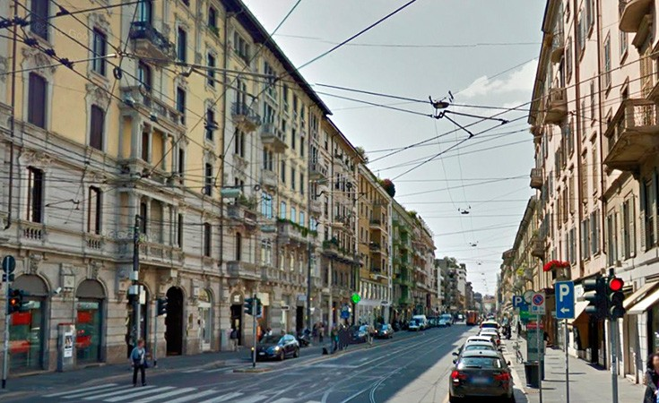 Corso Vercelli sopping zone