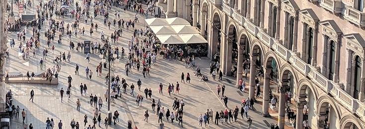 Korso Vittorio Emanuelle II- Via Torino - Via Dante