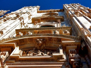 Fasada Duomo katedrale u Milanu
