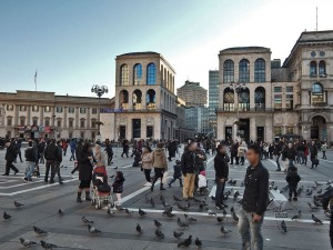 Trg Duomo u Milanu