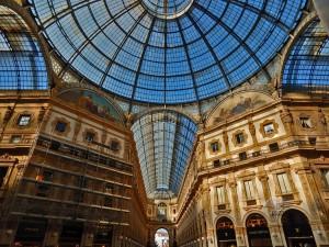 Gallery of Vittorio Emanuele II in Milan