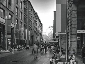 Corso Vittorio Emanuele II in Milan