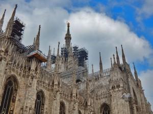 Terase Duomo katedrale u Milanu