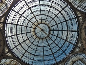 Dome of the Gallery Vittorio Emanuele II