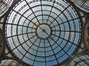 Kupola galerije Vitorio Emanuele II u Milanu