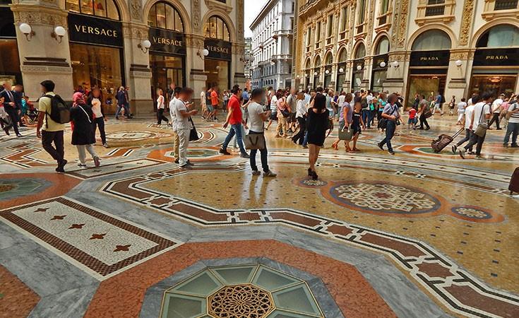 Galerija Vitorio Emanuele II Milano